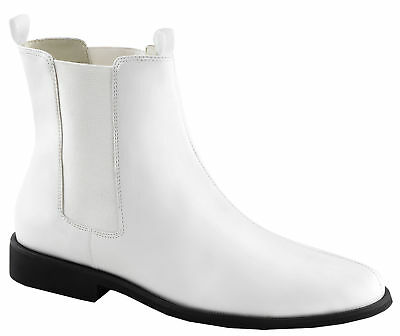 Trooper 12 White Adult Boots, Large