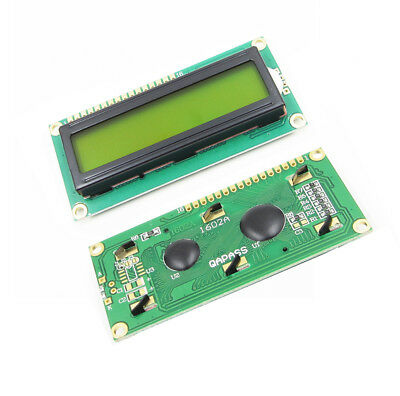 1602 16X2 Hd44780 Character Lcm Yellow Backlight Lcd Display Module BSG