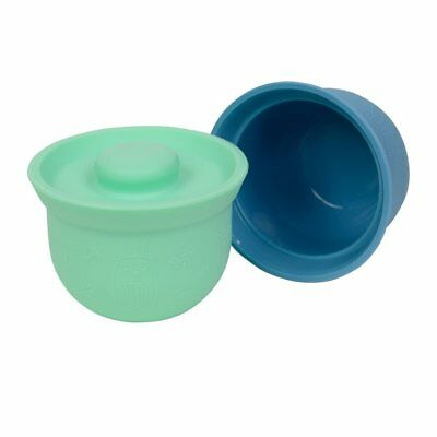 NEW WeanMeister Mini AdoraBOWLS - Turquoise & Teal Blue