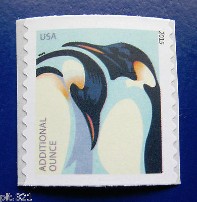 Sc # 4990 ~ Forever Additional Ounce ~ Emperor Penquins Issue, Coil Single