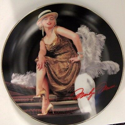 Bradford Exchange Marilyn Monroe GOLDEN GLAMOUR 7th Issue Collector Plate