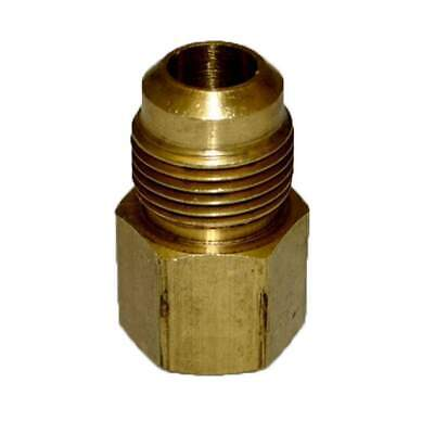 "HPC Adaptor Brass Fitting, 1/2"" Tube, 1/2"" FIP"