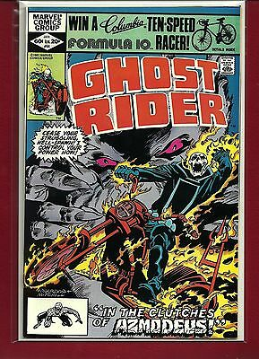 GHOST RIDER # 64 Bronze Age 1981 AZMODEUS HIGH GRADE NM