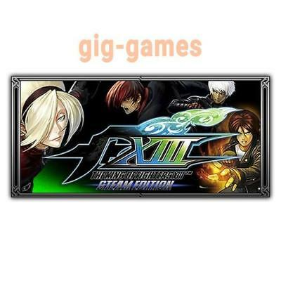 THE KING OF FIGHTERS XIII 8 STEAM EDITION PC Steam Download Link DE/EU/USA Key