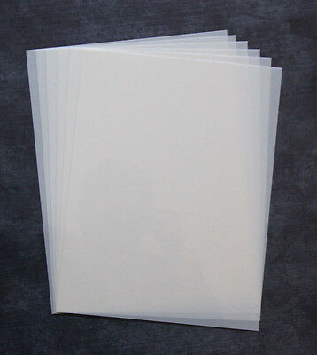 "Blank Mylar Stencil Sheets - 8.5""x11"" 10 Mil OFFICIAL Mylar Stencil Material"