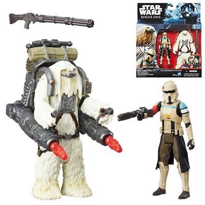 Star Wars Rogue One 3.75 in Action Figure 2-Pack Scarif Stormtrooper and Moroff