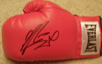 John The Beast Mugabi Autographed Signed Everlast Boxing Glove