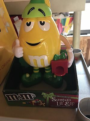 NEW M&M Santa's Lil Elf Dispenser