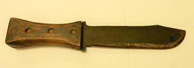 Theater Knife, Trench Art, WWII, 1.72 lbs, Wood Handle,   #TK18