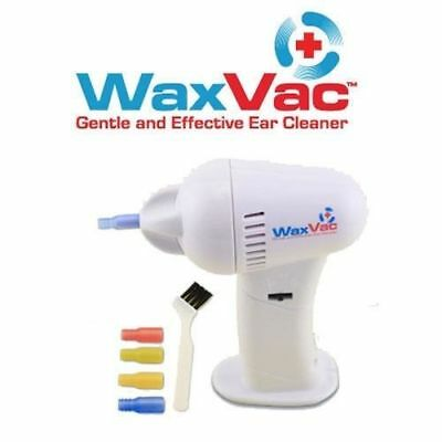 New Electric Cordless Painless Wax Vac Ear Wax Remover Cleaner Vacuum Ear Pick