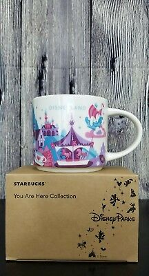 Disney Parks Disneyland Fantasyland YAH You Are Here Starbucks Mug Version 2