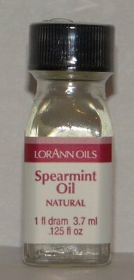Lorann Oils Natural Spearmint Oil, 1 DRAM Each
