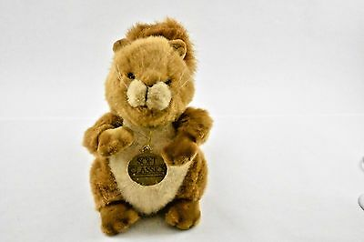 1989 OLD VINTAGE LOVELY SQUIRELL PLUSH TOY 12 Inch