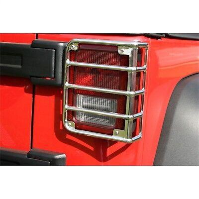 Tail Light Guard-Taillight Guard Rugged Ridge 11103.03 fits 07-17 Jeep Wrangler