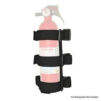 Fire Extinguisher-Holder Rugged Ridge 13305.21 fits 97-17 Jeep Wrangler