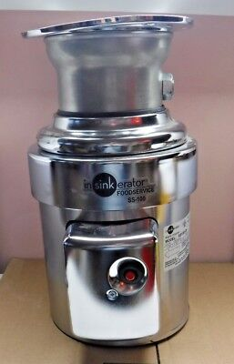 InSinkErator  SS-100-28  1 HP Commercial Garbage Disposal Waste Disposer Damaged