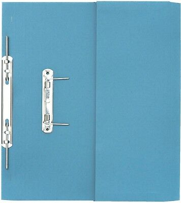 Guildhall Transfer Spring Files with Inside Pocket 315gsm 38mm Foolscap Blue [Pa