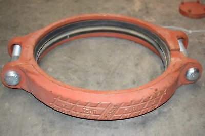 NEW Victaulic 12'' Gasket Clamp Rigid Coupling, w/Gasket 12-323.9 Zero Flex