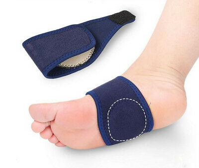 FOOT ARCH SUPPORT Plantar Fasciitis Cushioned Aid Fallen Arches Heel Pain Relief
