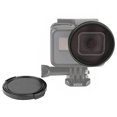 52MM Diameter Protective UV Filter Lens With Cap for GoPro Hero 6 5 Camera
