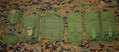 Eagle Ciras Vest ~ Od Green Molle Pouch Kit ~ New!