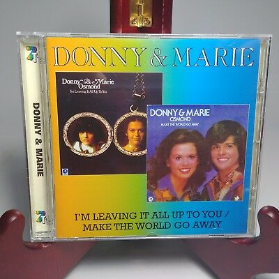 Donny And Marie Osmond - I'm Leaving It All Up to You / Make The World Go Away