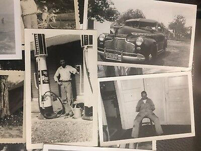 LOT of 100+ Photos - B/W Snapshots! 1900-1960's OLD/VINTAGE Photos