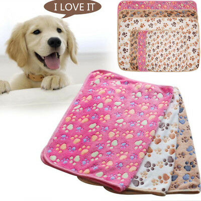 Doux Chaud Couverture Couchage Tapis Coussin Matelas Blanket Chien Chat Animal