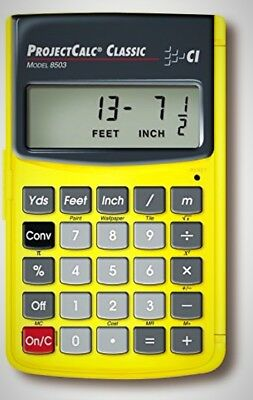 Calculated Industries ProjectCalc Home Improvement Calculator Do It Yourselfers