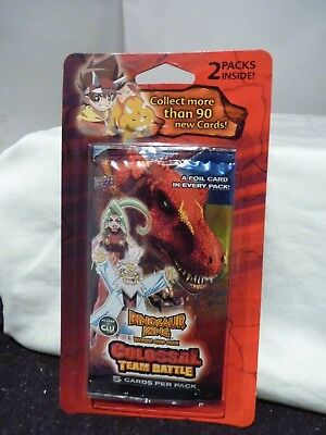 Dinosaur King Booster Pack (10 Cards) - Colossal Team Battle. Upper Deck