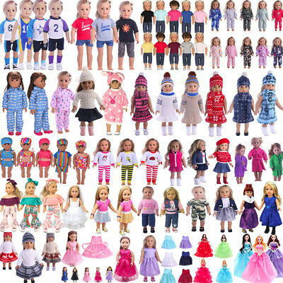 "18"" Doll Clothes Pajames Laceskirt for American Girl Our Generation My Life Doll"