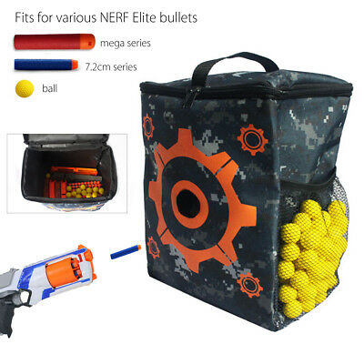 Target Bullet Pouch Bag + Refill Bullet Ball For Nerf Elite Rival Apollo Zeus