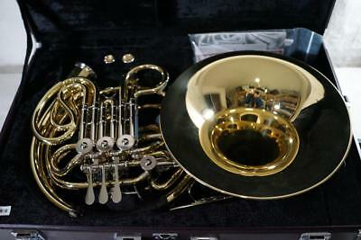 YAMAHA YHR-668D F/Bb Double Horn Used W/Hard Case Free International Shipping!