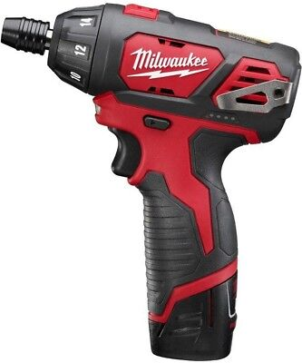 Milwaukee M12 12-Volt Lithium-Ion 1/4 in. Hex Cordless Screwdriver Kit
