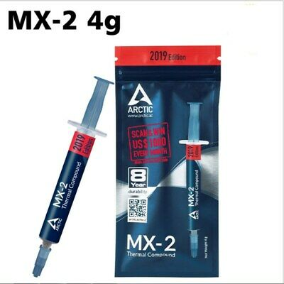 NEW Genuine Arctic Cooling MX 2 4g Thermal Compound Paste CPU for All Coolers