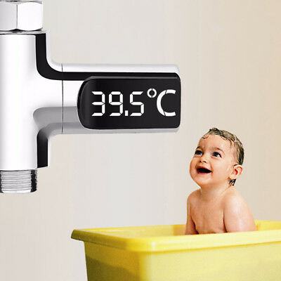 High-precision LED Water Shower Thermometer Temperature Meter Monitor Sensor-NEW