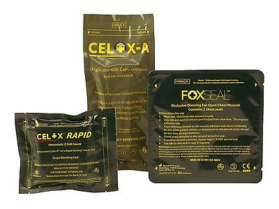 CELOX 15g or 35g or A Applicator or Rapid Gauze or 5 ft ZFold Gauze or FoxSeal