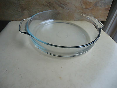 Oven Proof/Microwave Baking Dish Clear Round