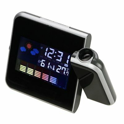 Digital Weather Projection Multi-function Alarm Clock X2W6