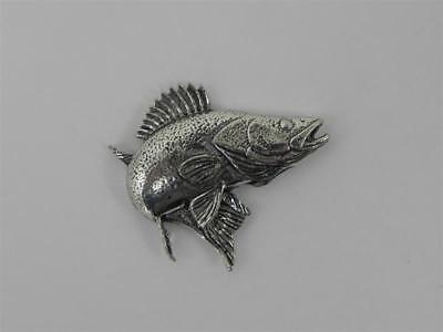 Zander PIN DE SOLAPA PESCADO Ideas Regalo Broche