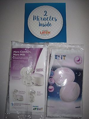Samples for Mom Munchkin Latch/ Philips Avent Nursing Pads