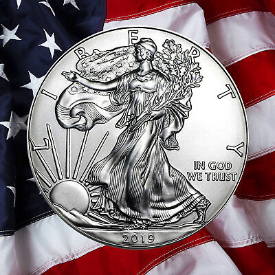 2018 $1 American Silver Eagle (BU) 1-Ounce  *** IN STOCK !!! ***