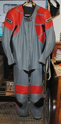 Zooni Motorcycle Full Leather Suit-Excellent Shape
