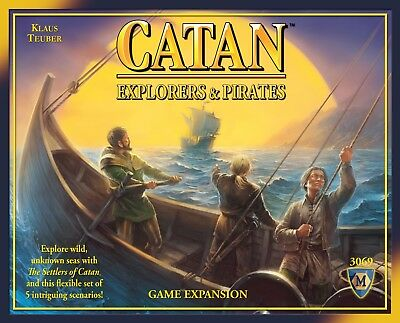 Old Edition Explorers & Pirates Of Catan 4Th Edition Board Game Expansion