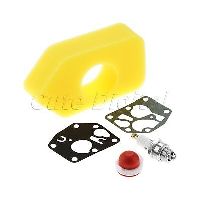 Lawnmower Air Filter Carb Gaskets For Briggs & Stratton Murray Craftsman Replace
