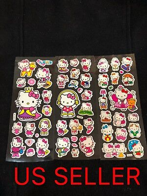 Hello Kitty 3 Sheets 3D Stickers