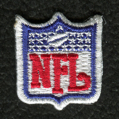 "Nfl Football 1"" Shield Logo Patch For Jersey Collar"