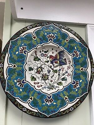 Floral Porcelain Wall Plate