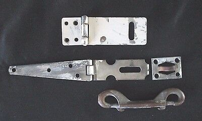 4 Original Older Pieces of Architectural Salvage Mixed Hardware