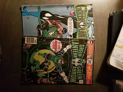 GREEN LANTERN 2 book lot Silver age/Bronze age #74 and 90